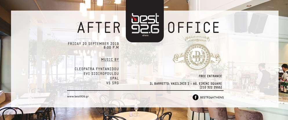 Best AFTER OFFICE Event στο Il Barretto